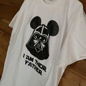 Disney Star Wars Darth Vader Mickey Ears T-Shirt